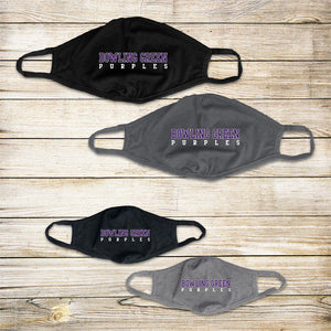 Bowling Green Purples Protective Masks