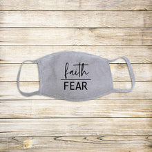 Load image into Gallery viewer, Faith Over Fear Protective Mask