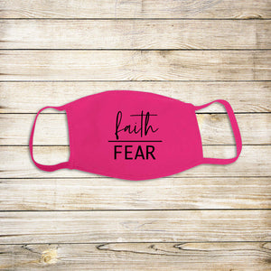 Faith Over Fear Protective Mask