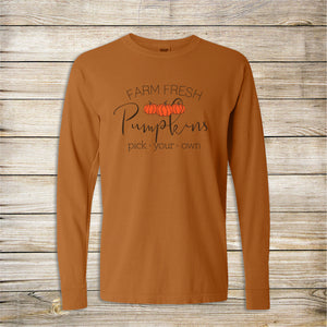 Farm Fresh Long Sleeve Tee