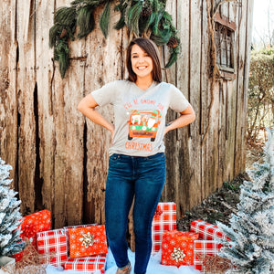 I'll be Gnome for Christmas Tee