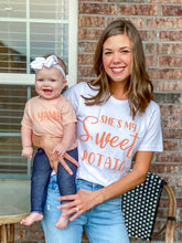 Load image into Gallery viewer, She's my Sweet Potato > I Yam! - Mommy and Me Set