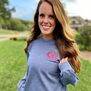 Apple Monogrammed Sweatshirt