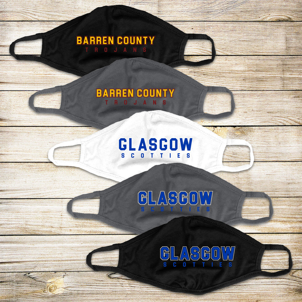 Glasgow/Barren County Schools – Choose our School, Choose Your Mask!