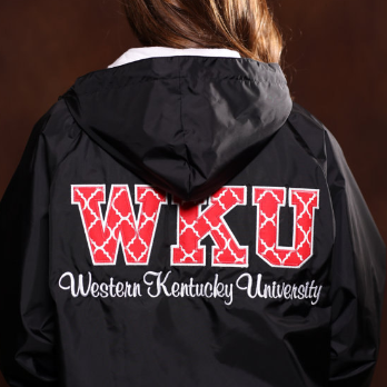 WKU Charles River Applique Pullover Jacket
