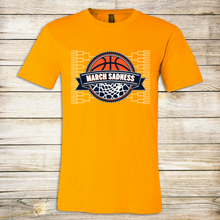 Load image into Gallery viewer, March Sadness Bracket Adult Tee