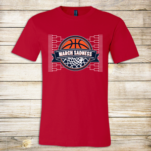 March Sadness Bracket Adult Tee