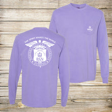 Load image into Gallery viewer, The Spirit Makes The Nurse Comfort Colors Pocket Long Sleeve