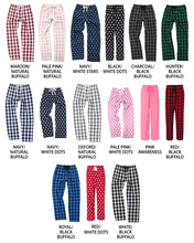 Load image into Gallery viewer, Monogrammed Flannel Pants