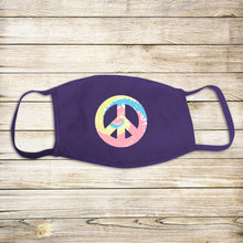 Load image into Gallery viewer, Peace Sign Protective Mask - Pastel