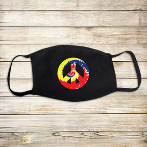 Peace Sign Protective Mask - Primary