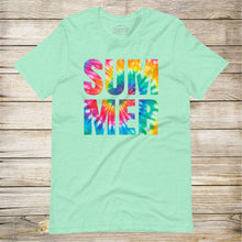 Load image into Gallery viewer, Tie-Dye Summer Tee