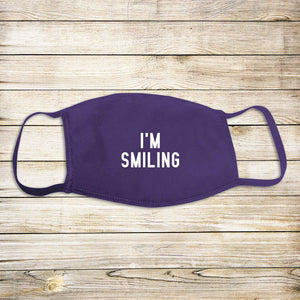 I'm Smiling Protective Mask