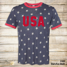 Load image into Gallery viewer, USA Stars Collection - Tees & Tank