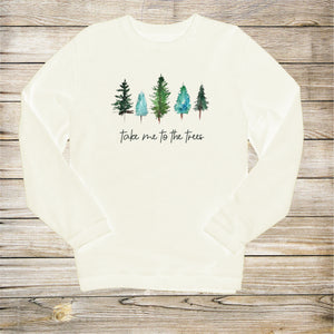 Take Me To The Trees Corduroy Pullover