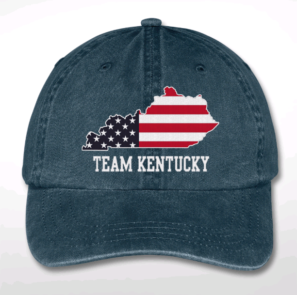 Team KY Embroidered Dad Cap - 100% OF PROCEEDS TO BENEFIT UNITED WAY OF SOUTHERN KY FOOD PANTRIES!