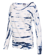 Load image into Gallery viewer, Open Heart Off The Shoulder Tie Dye