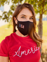 Load image into Gallery viewer, USA Contoured Protective Mask