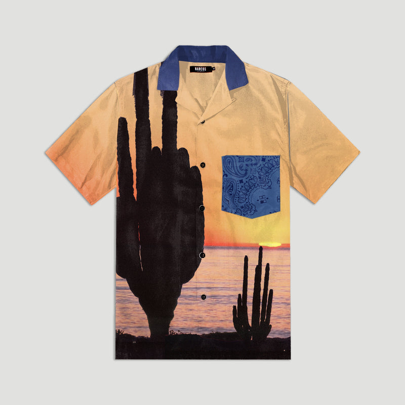 Saguaro Sunrise Summer Shirt