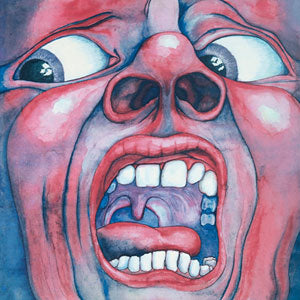In The Court of the Crimson King original sleeve by Barry Godber
