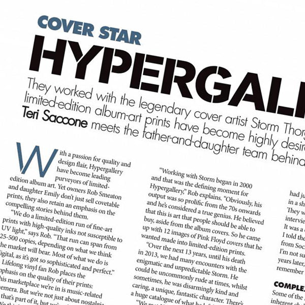 LLV Cover Star Article: Hypergallery