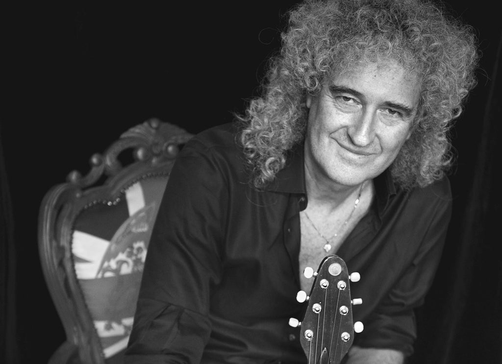 Brian May photographed by Scarlet Page for Resonators
