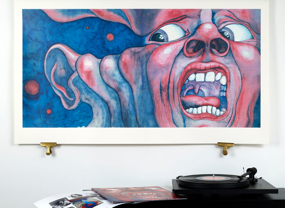 King Crimson limited edition art print by Hypergallery