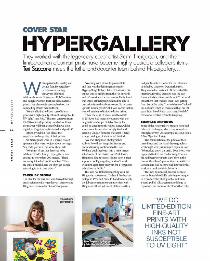 LLV Cover Star Article: Hypergallery 1