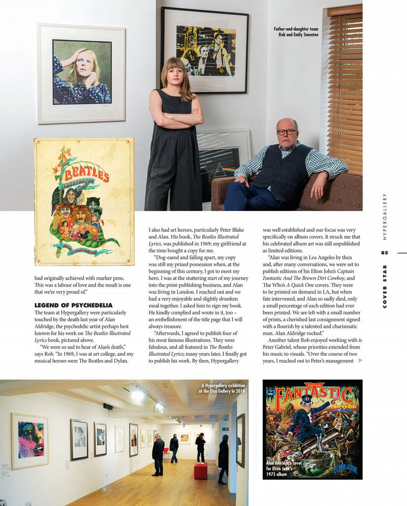LLV Cover Star Article: Hypergallery 2