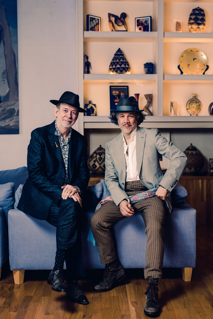 Phil Manzanera and Lucho Brieva by Alex Wallace