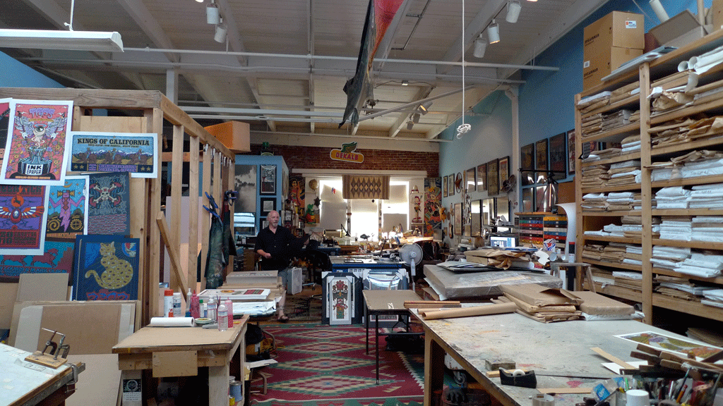 Studio Visit: Gary Houston at the Voodoo Catbox studio in Portland, Oregon
