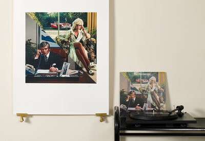 Scale photo of 10cc How Dare You limited edition inkjet print