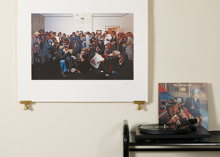 Scale photo of 10cc How Dare You Gatefold limited edition inkjet print