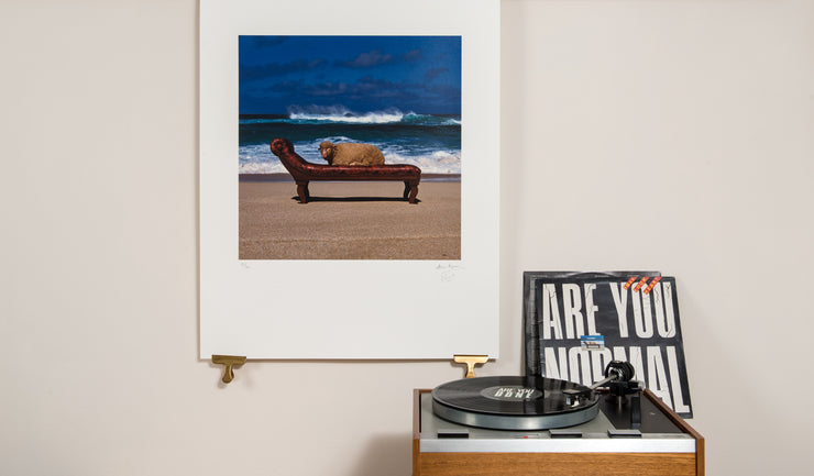 Scale photo of 10cc Look Hear? limited edition inkjet print