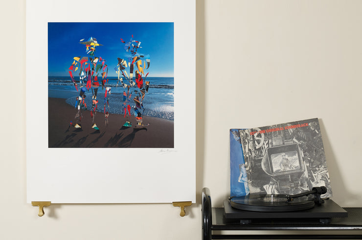Scale photo of 10cc Mirror Mirror limited edition inkjet print
