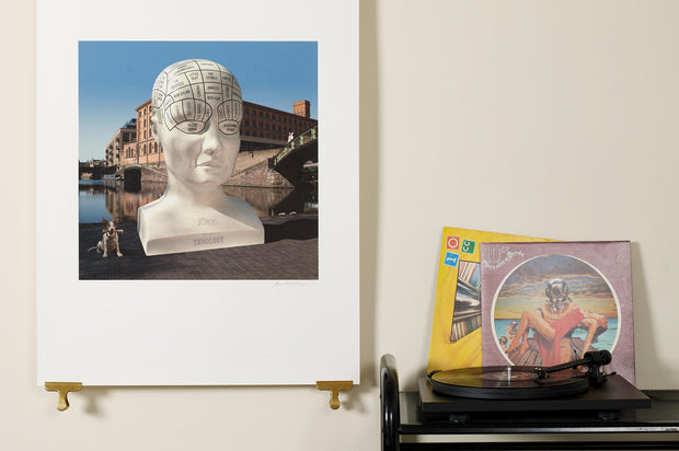 Scale photo of 10cc Tenology limited edition inkjet print