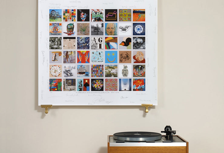 Scale photo of AGBI limited edition art print by Peter Blake