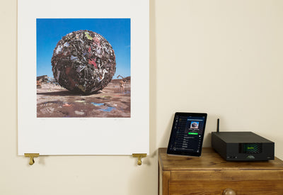 Scale photo of Anthrax album art print by Storm Thorgerson