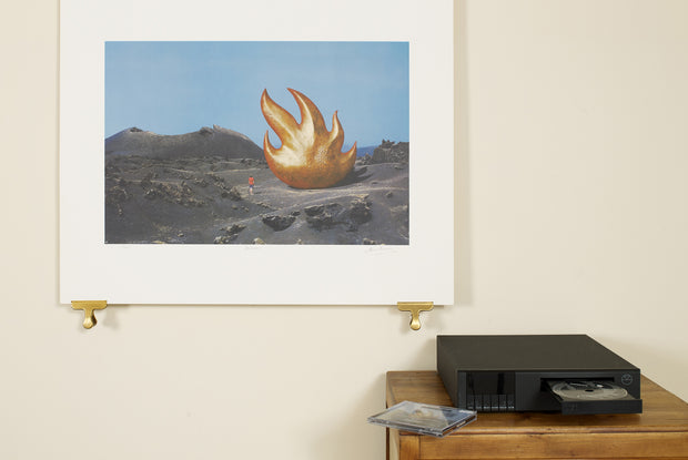 Scale Photo of Audioslave inkjet print by Storm Thorgerson