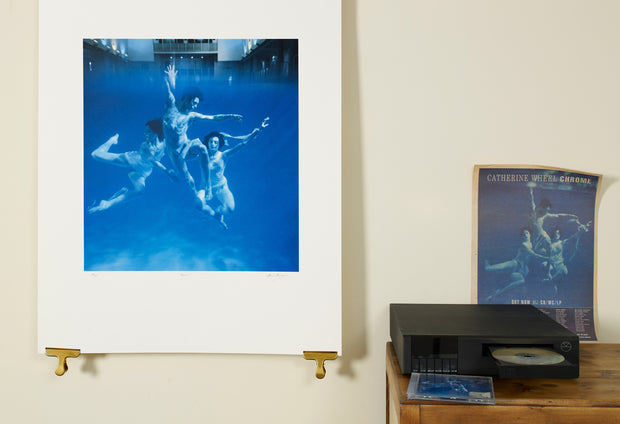 Scale photo of Catherine Wheel art print by Storm Thorgerosn