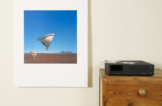 Scale photo of The Cranberries Bury the Hatchet album art print by Storm Thorgerson