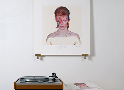 Scale photo of David Bowie Aladdin Sane limited edition inkjet print