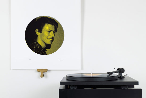 Scale photo of David Bowie Cafe Royal print by Vincent McEvoy