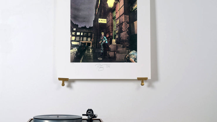 Scale photo of David Bowie Ziggy Stardust limited edition inkjet print