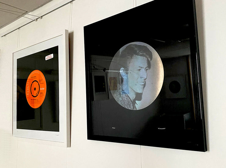 David Bowie prints on exhibition at Hypergallery