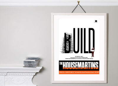 Scale photo of The Housemartins Build archival inkjet print by David Storey