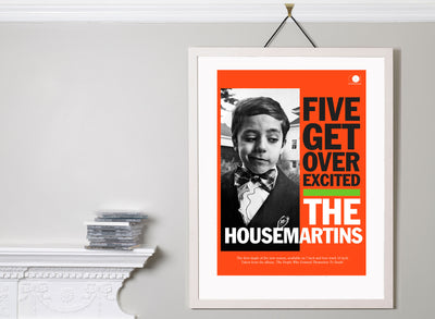 Scale photo of The Housemartins art print by David Story