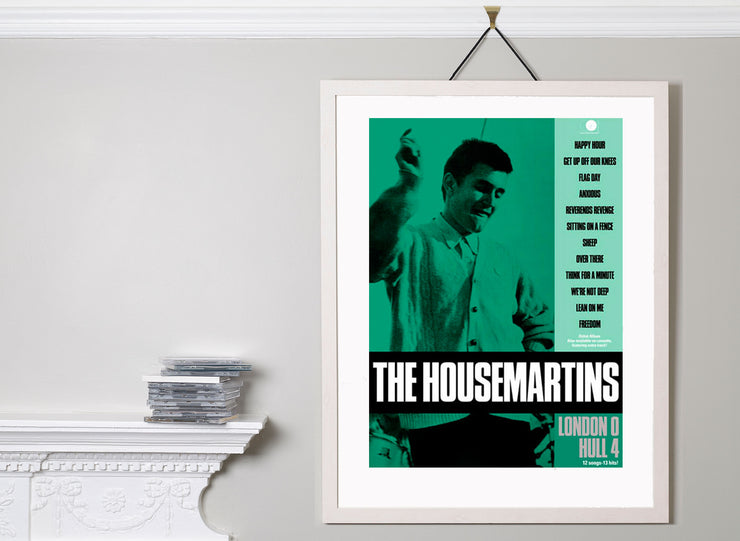 Scale photo of The Housemartins art print by David Storey