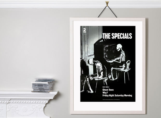 Scale photo of The Specials Ghost Town limited edition art print