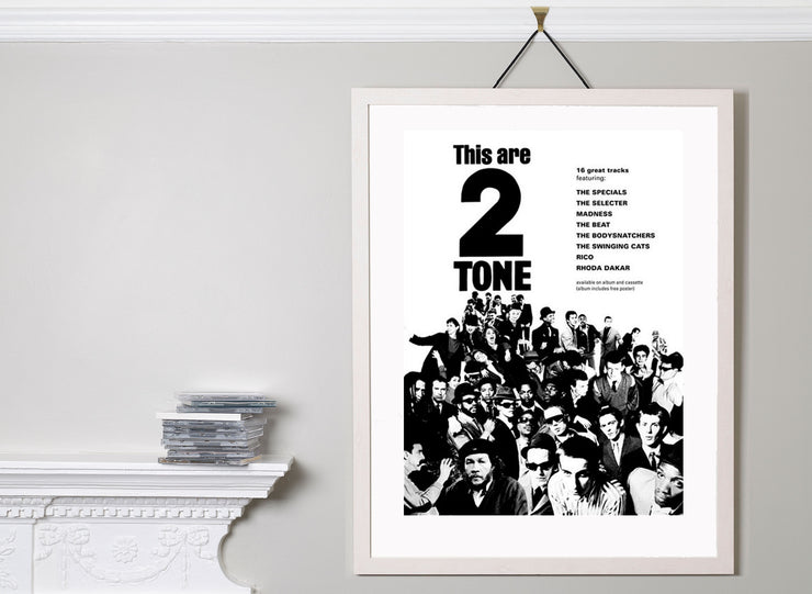 Scale photo of This are 2 Tone art print by David Storey